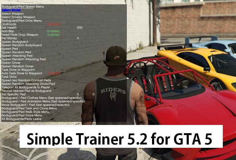 Simple Trainer for GTA V