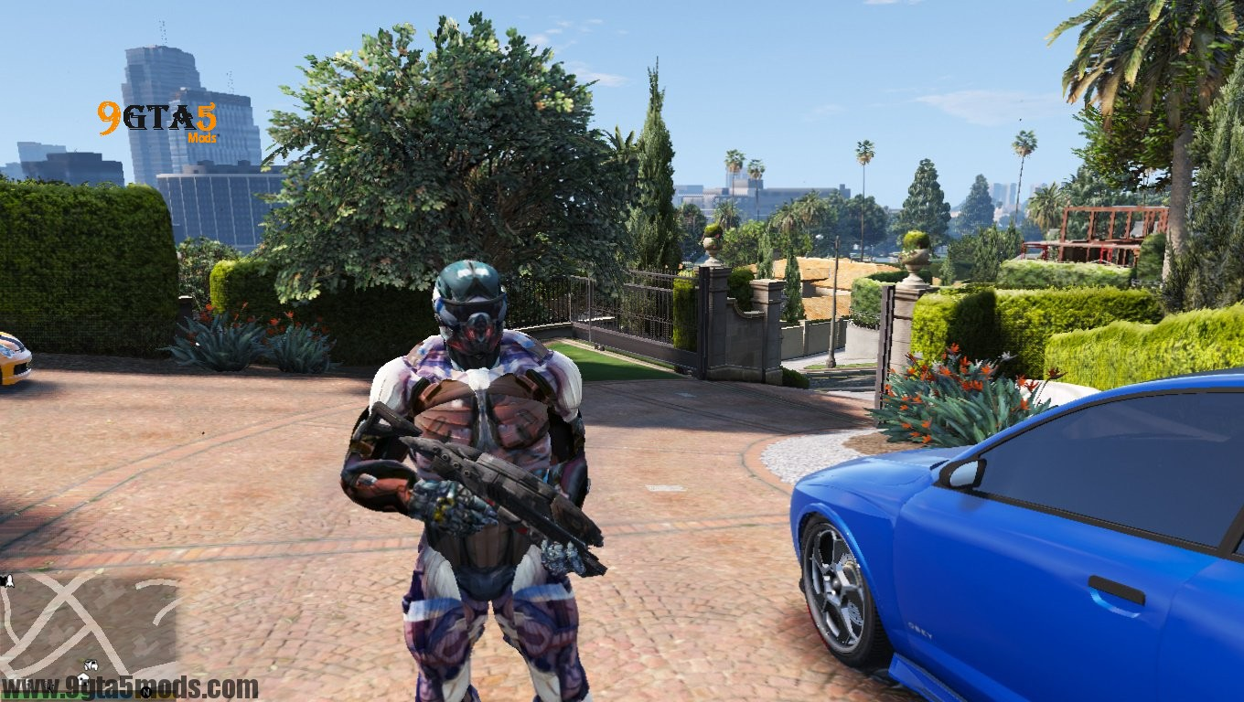 Crysis 2 Nanosuit Re Texture N7 - Player Mods For GTA5