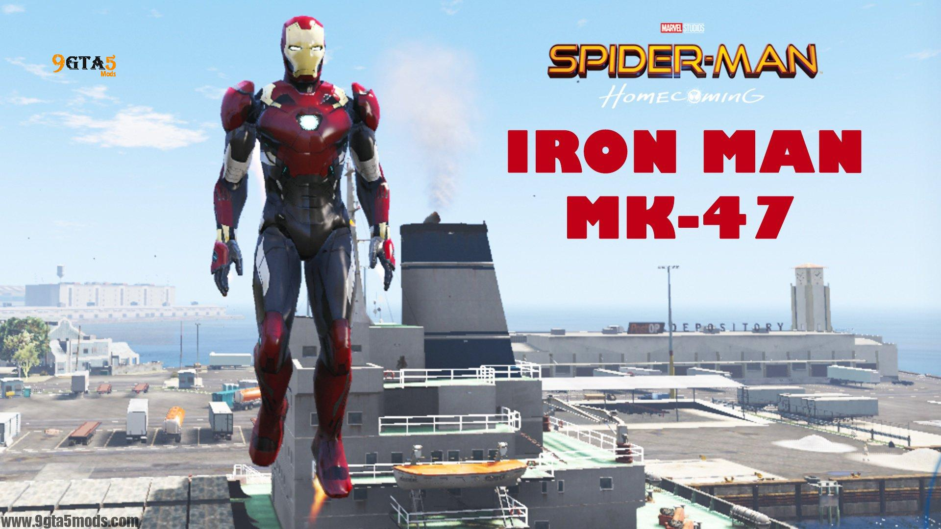 Iron Man Mark 47 Spider Man Homecoming-1