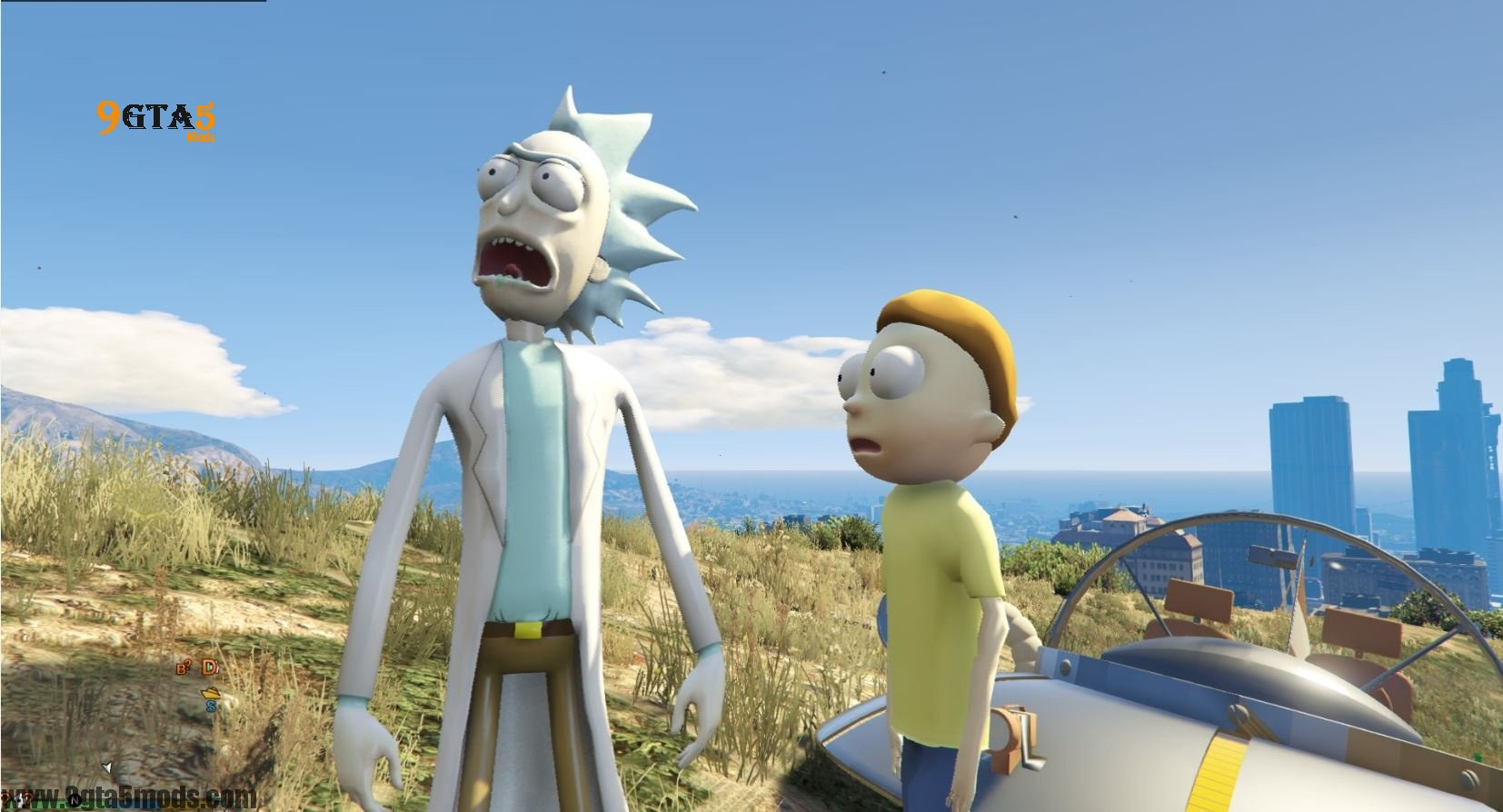 Rick Sanchez (Rick and Morty) - Player Mods For GTA5 - 2
