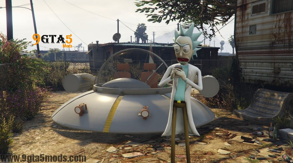 Rick Sanchez (Rick and Morty) - Player Mods For GTA5