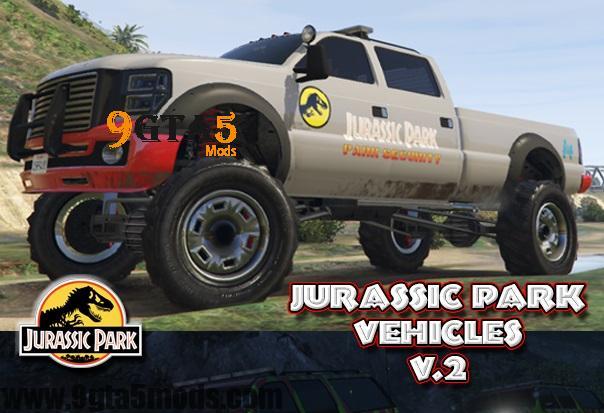 Jurassic park vehicles top vehicles gta5 9gta5mods jurassic park vehicles 1 gumiabroncs Choice Image