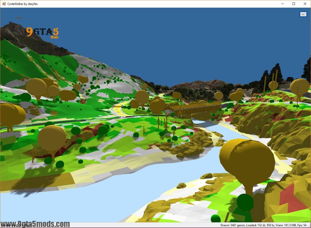 Used Chevrolet Silverado >> Code Walker GTA V 3D Map Editor - Tool for GTA5 ...