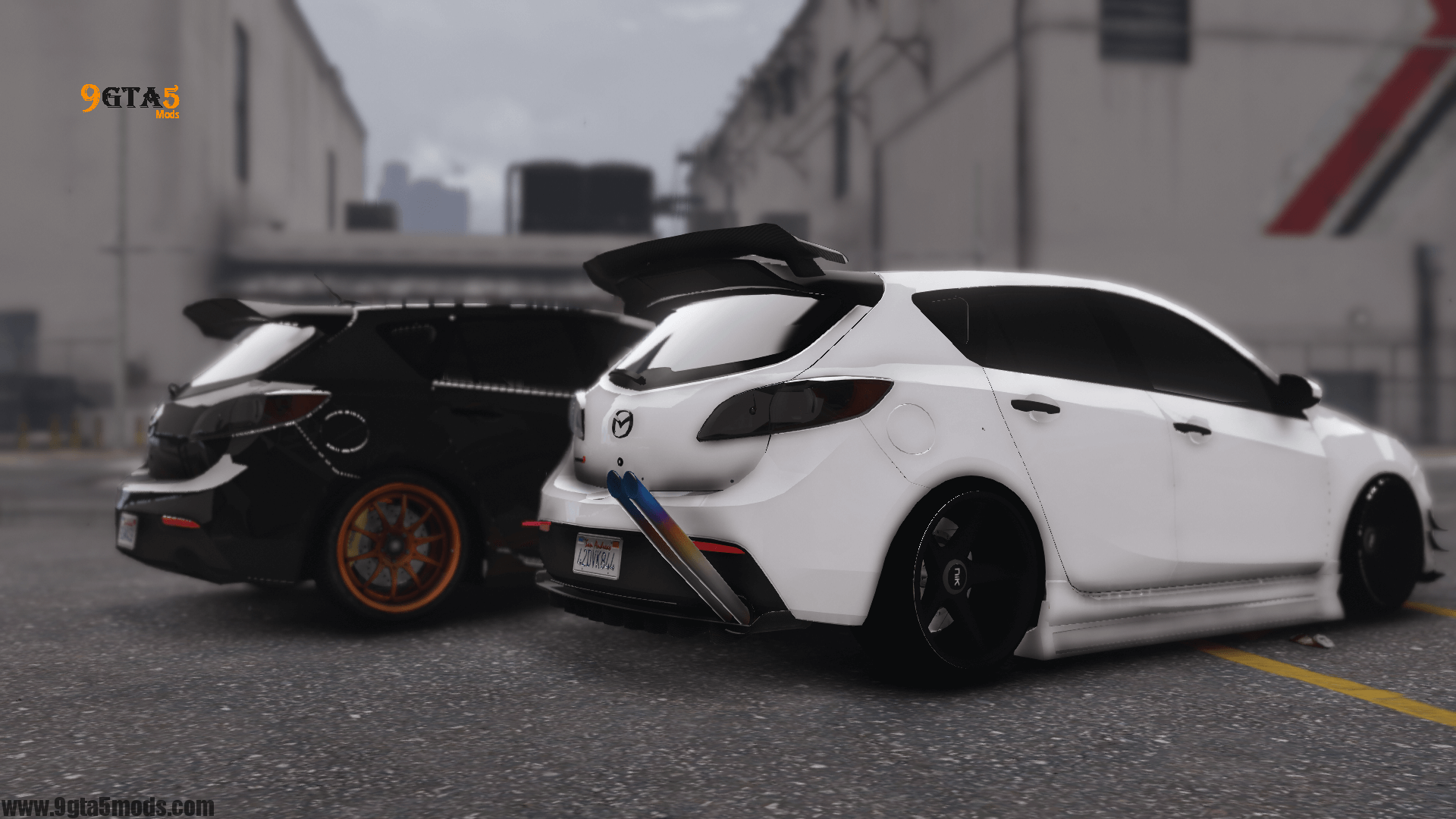 2010 Mazda 3 Modify Add On Template Tuning Gta 5