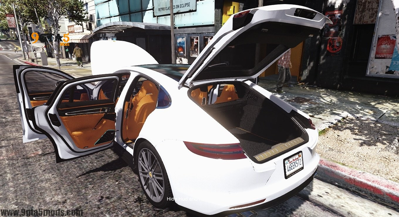 New Porsche Panamera >> Porsche All Panamera Models – GTA 5 Vehicles - 9gta5mods.com