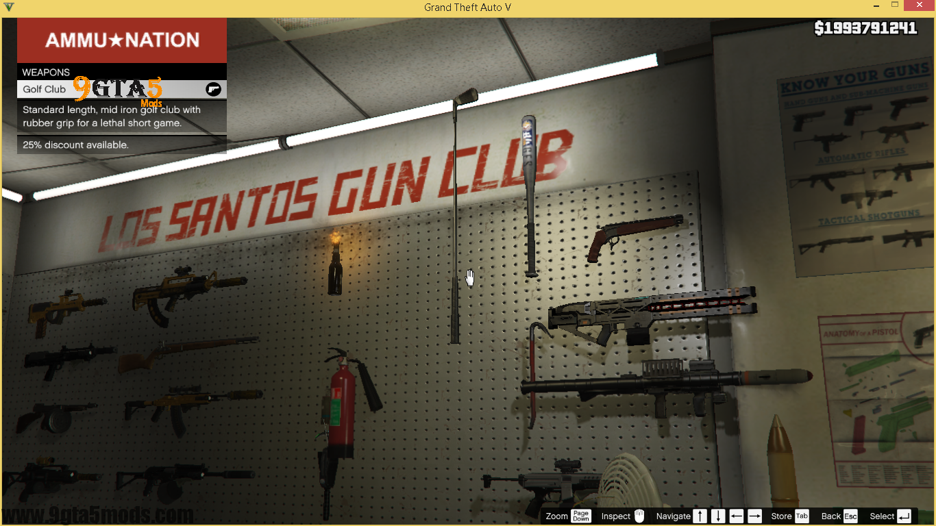 gta 5 how to sell weapons