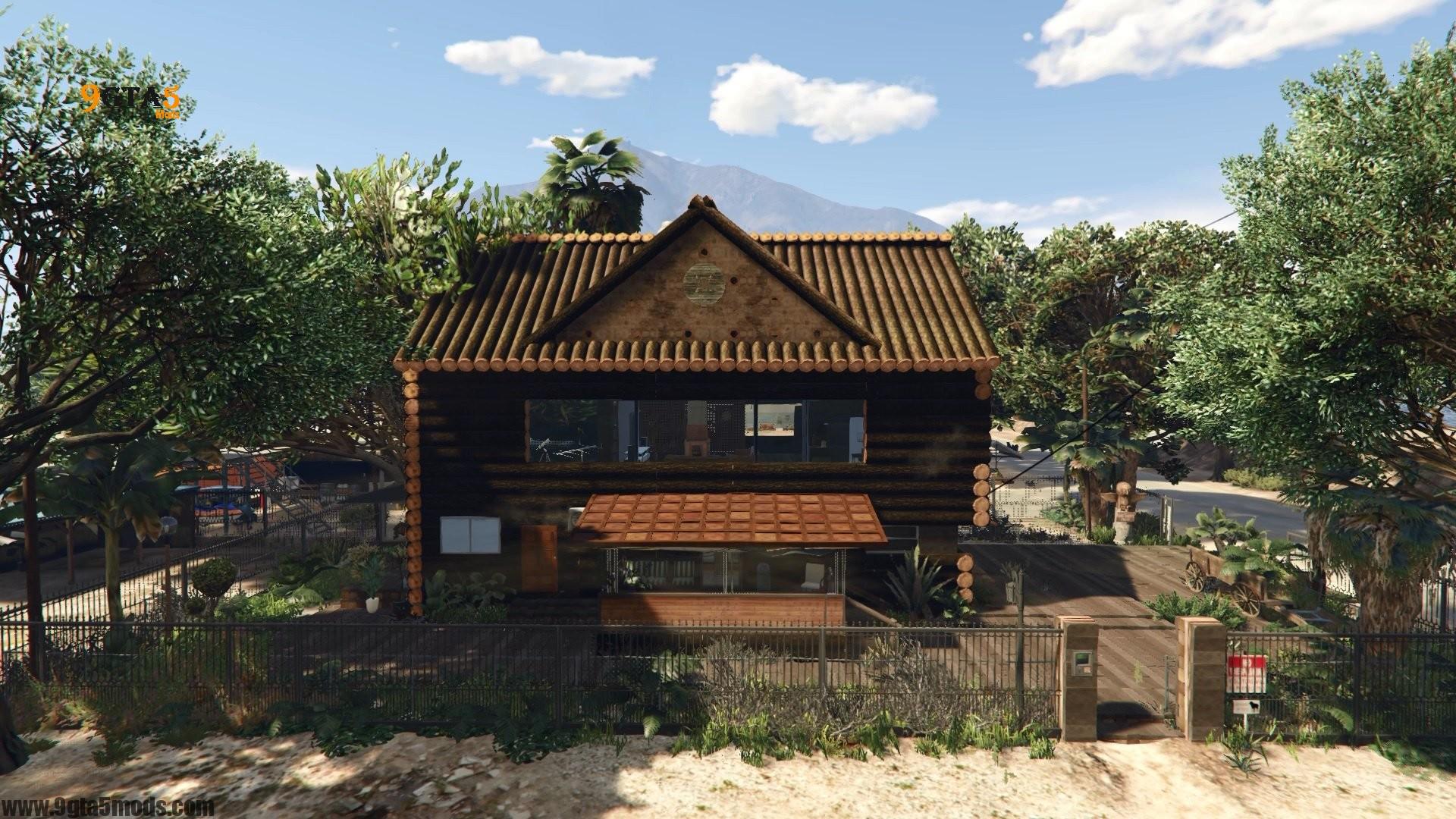 Trevor's Log House 1