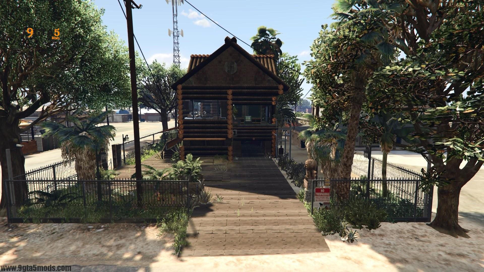 Trevor's Log House 2
