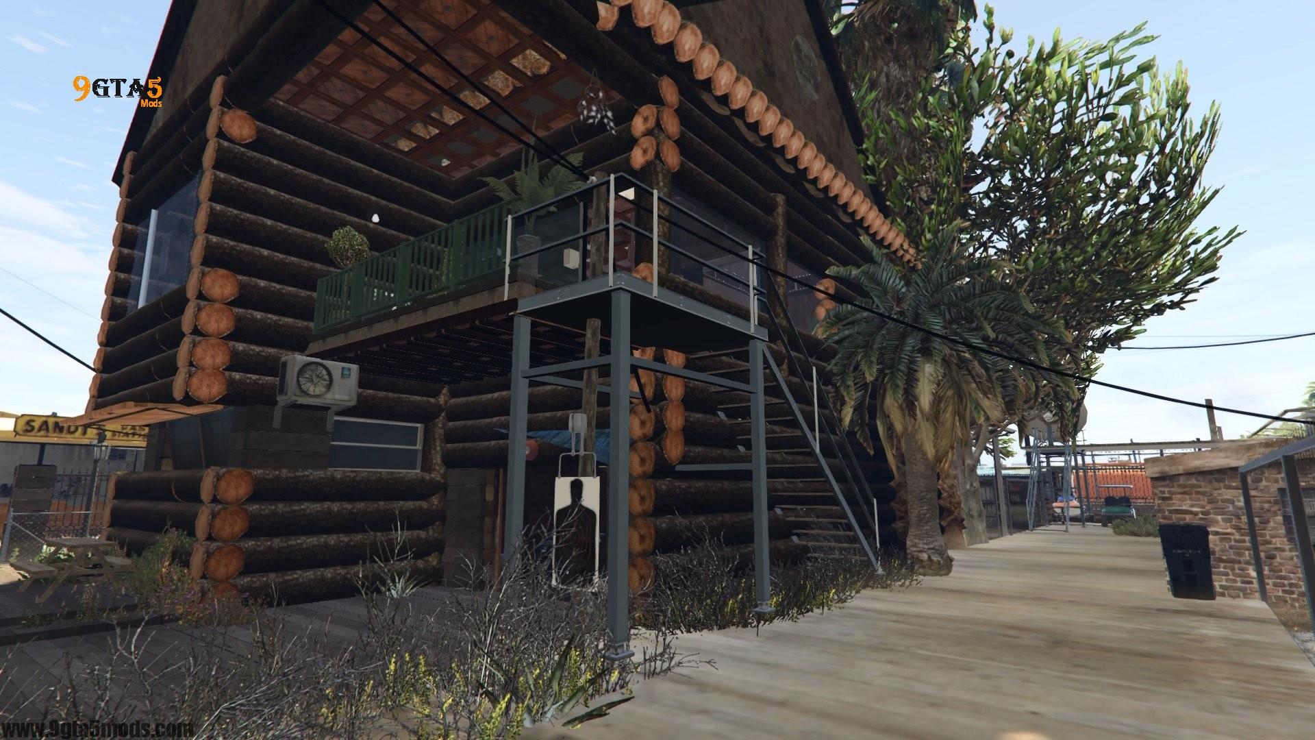 Trevor's Log House 3