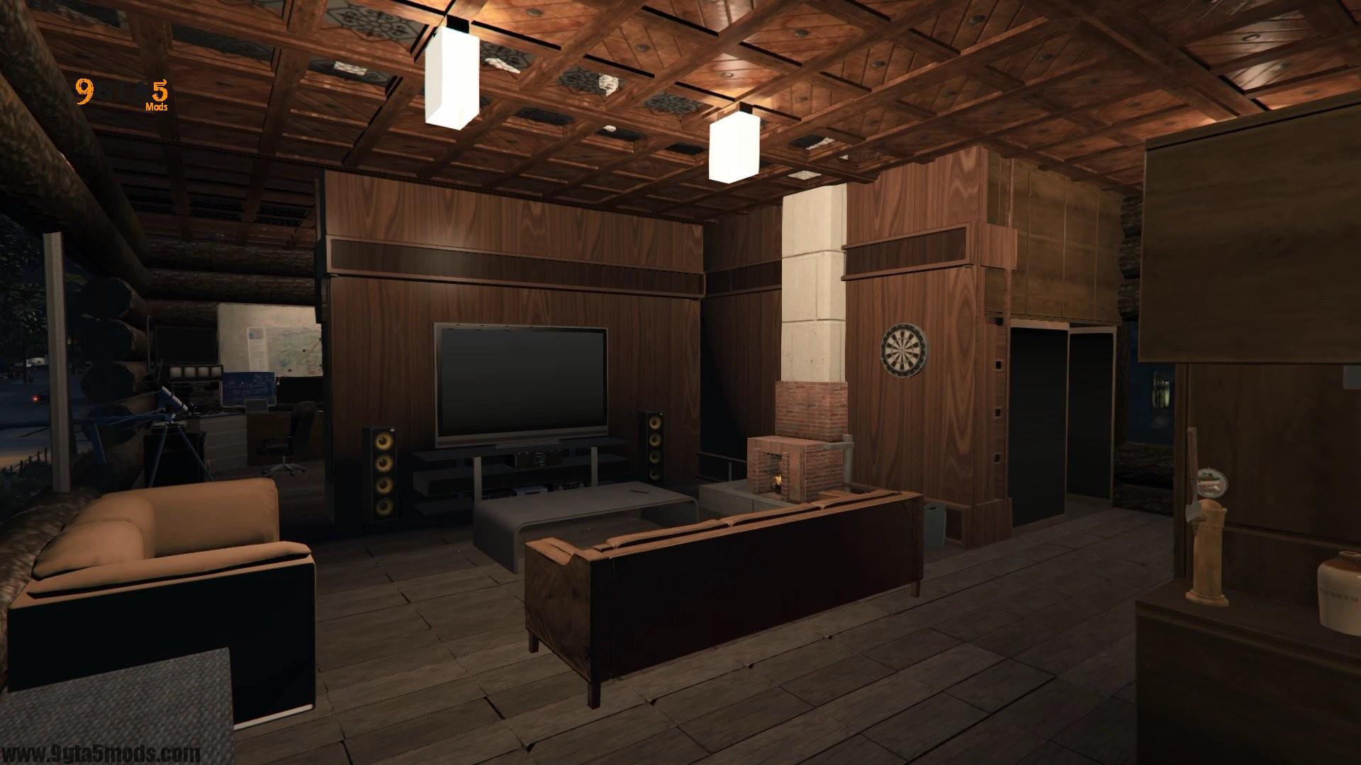 Trevor's Log House 4
