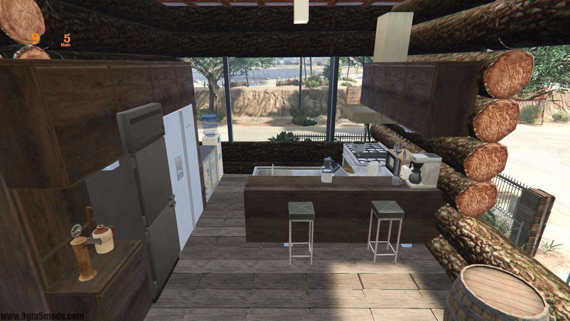 Trevor's Log House 5