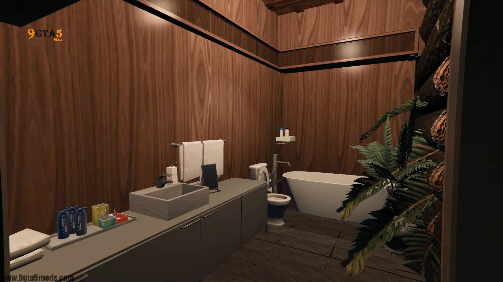 Trevor's Log House8