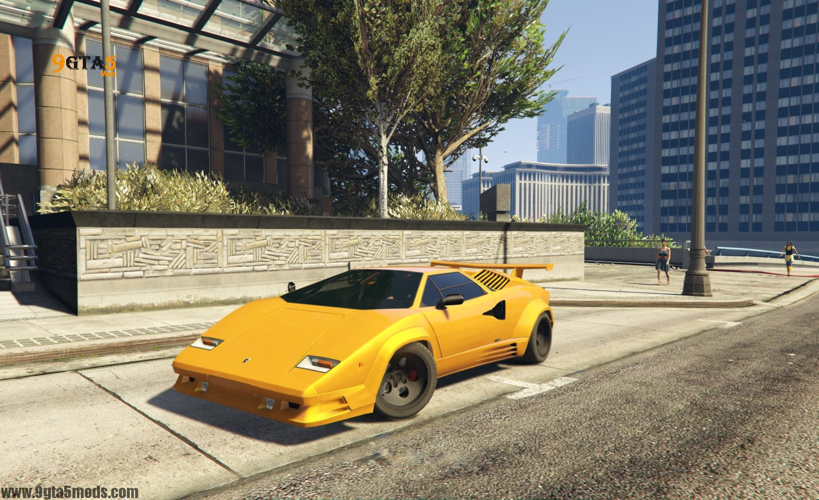 lamborghini countach qv add on tuning gta 5 vehicles. Black Bedroom Furniture Sets. Home Design Ideas