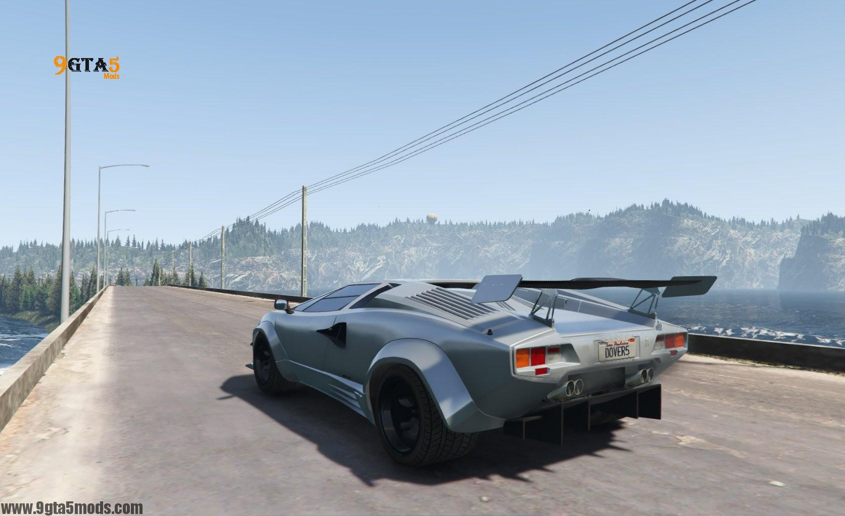 Lamborghini Countach Qv Add On Tuning Gta 5 Vehicles