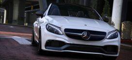 Mercedes Benz AMG C 63 S Coupe 2016 – GTA 5 Vehicles
