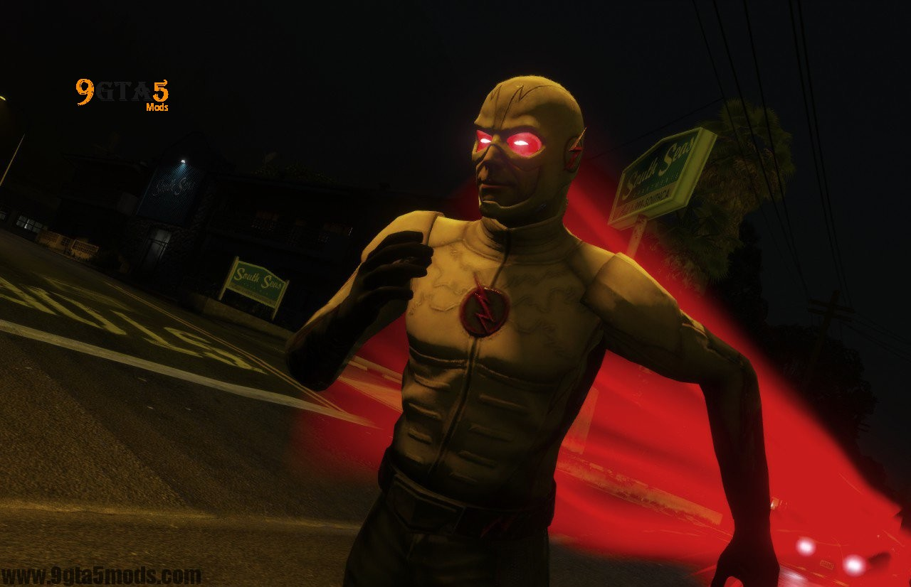 CW The Flash Characters Pack (Addon Ped Version) – Player Mods For