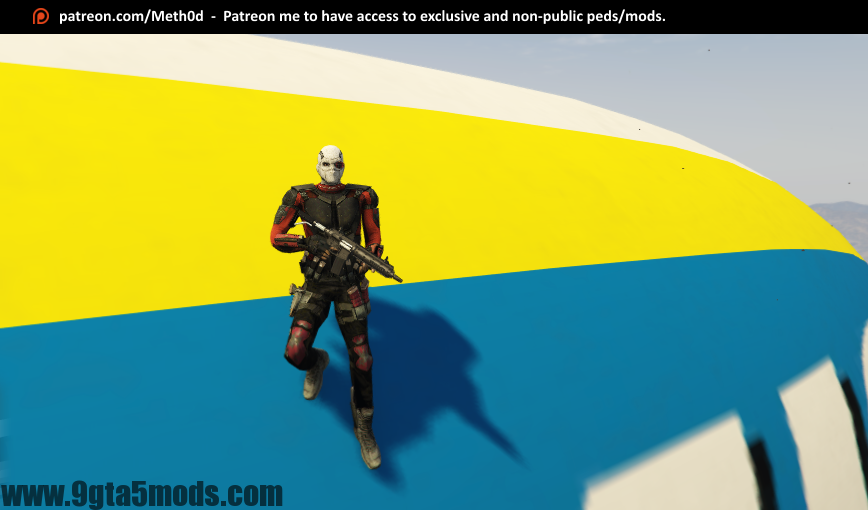 Deadshot (Suicide Squad) - Gta Download - 9gta5mods com