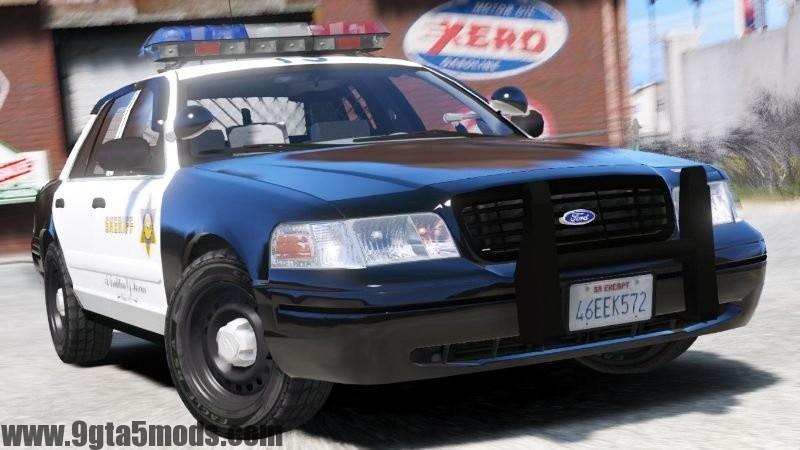 Ford Crown LSPD Sheriff Pack - Gta V On - 9gta5mods com