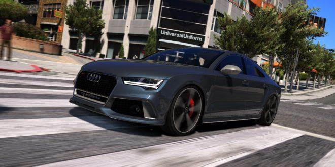 Audi Rs7 Sportback 2015 9gta5mods