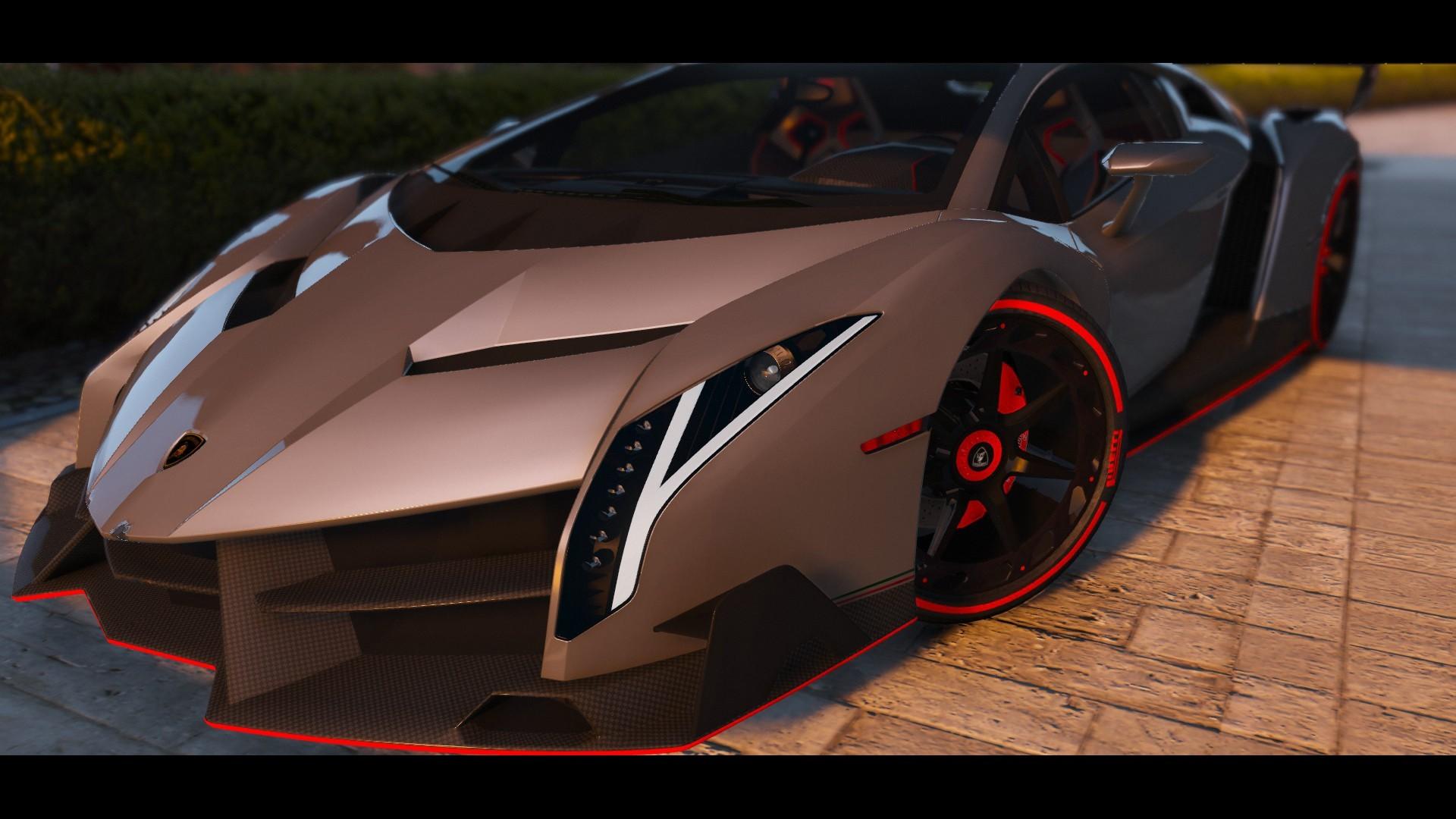 Lamborghini Veneno HQ [Add-On | Dials] - Car Hot - 9gta5mods com