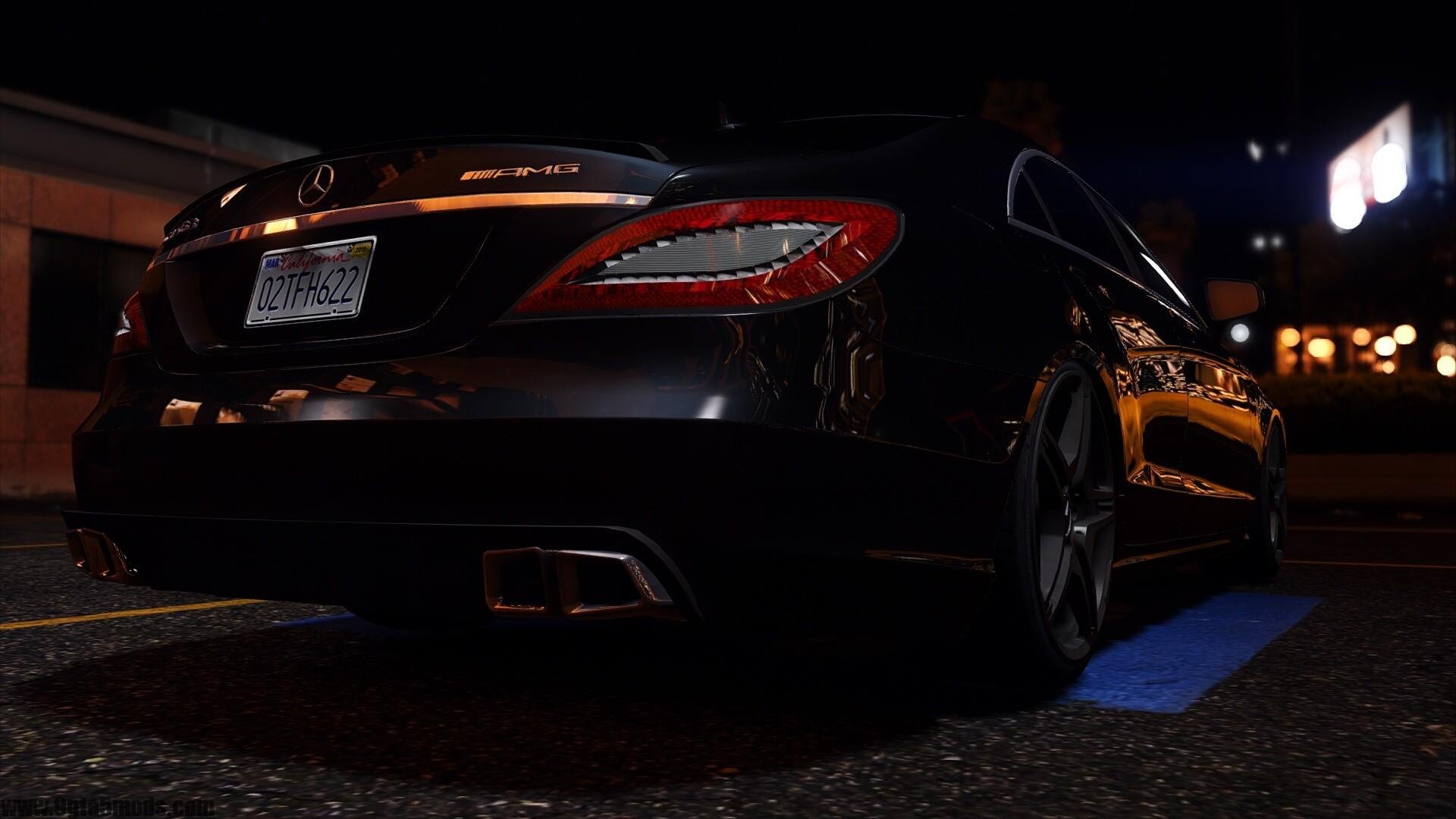 Mercedes-Benz CLS 6 3 AMG 1 2 - Mods car - 9gta5mods com