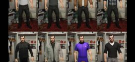 Franklin's new clothes for Michael – Game Gta