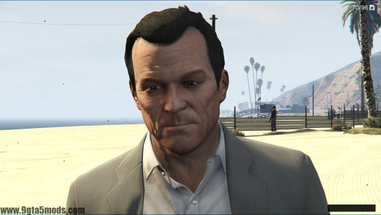 Michael trailer 2 beta face model - Download Game Gta V