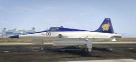 Shin Kazama Paintjob for F-5E Tiger II – GTA 5 Online